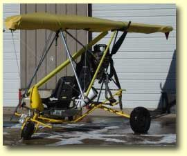 Seair Trike Frame - replace your boat with a wheeled frame. It's two ultralights for the price of one!